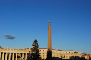 The obelisk that was in Nero's private racetrack