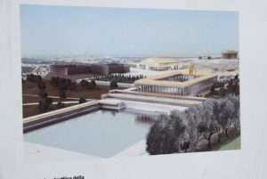 Reconstruction of the layout of the Golden House and environs