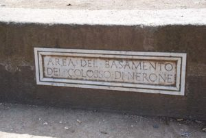 Inscription on the base identifying it