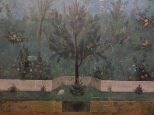 Life-like garden frescoes
